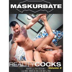 Reality Cocks #3 DVD (Maskurbate) (18766D)