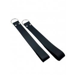 RudeRider Loops for Sling (Set of 2) Leather Black (T7353)