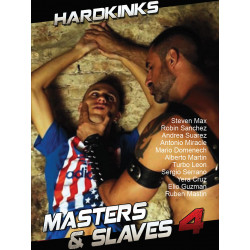 Masters and Slaves #4 DVD (Hard Kinks) (18755D)