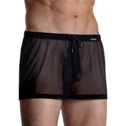 Manstore Boxer Shorts M963 Underwear Black (T7689)