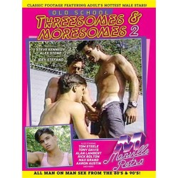 Old School Threesomes & Moresomes #2 DVD (Manville Classics) (19090D)