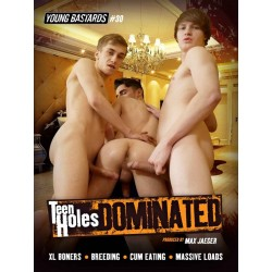 Teen Holes Dominated DVD (Young Bastards) (19043D)