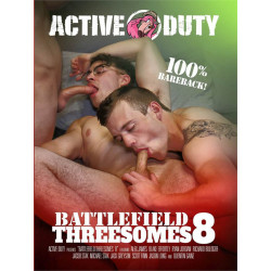 Battlefield Threesomes #8 DVD (Active Duty) (19176D)