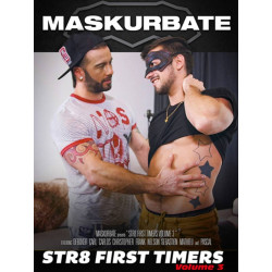 Str8 First Timers #3 DVD (Maskurbate) (19188D)
