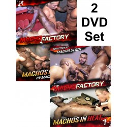 Machos In Heat 1-2 2-DVD-Set (Macho Factory) (19330D)