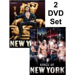 Kings of New York 1-2 2-DVD-Set (LucasEntertainment) (19328D)