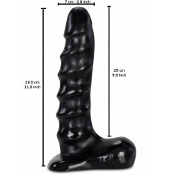 Ken Noir 25 x 7 cm (T7807)