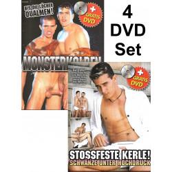 Monsterkolben & Stossfeste Kerle 4-DVD-Set (Foerster Media) (19268D)