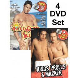 40 Grad in Rio & Jungs, Prolls Und Macker 4-DVD-Set (Foerster Media) (19267D)