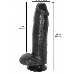 Darel Dildo 22 x 6 cm (T7810)