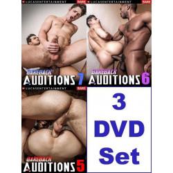 Bareback Auditions 5-7 3-DVD-Set (LucasEntertainment) (19336D)