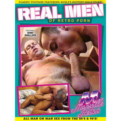 Real Men Of Retro Porn DVD (Manville Classics) (19407D)