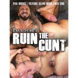 Ruin The Cunt DVD (Treasure Island) (19537D)