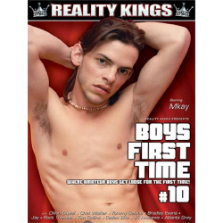 Boys First Time #10 DVD (Reality Kings) (19570D)