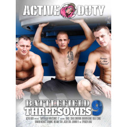 Battlefield Threesomes #9 DVD (Active Duty) (19661D)