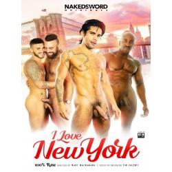 I Love New York DVD (Naked Sword) (19549D)