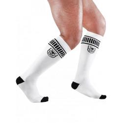 TOF Paris Football Socks White/Black (T7147)