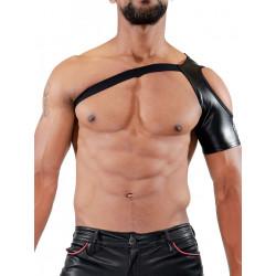 TOF Paris Open Shoulder Harness Black (T7088)