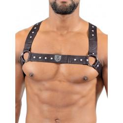 TOF Elastic Harness Belt Black (T7538)