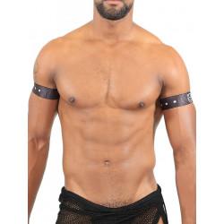 TOF Biceps 2 Bands Belt Black (T7542)