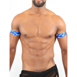 TOF Biceps 2 Bands Camo Blue (T7540)