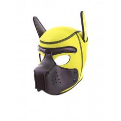 RudeRider Neoprene Puppy Hoods Yellow/Black (T7721)
