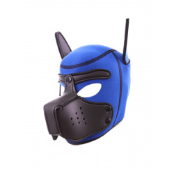 RudeRider Neoprene Puppy Hoods Blue/Black (T7719)