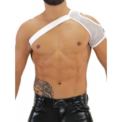 TOF Mesh Shoulder Harness White (T7936)