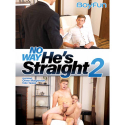 No Way He`s Straight #2 DVD (BoyFun) (19699D)