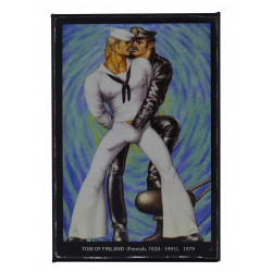 Tom of Finland Magnet Psychedelic Blue (T5817)