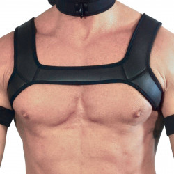 RudeRider Neoprene Harness Black (T7256)