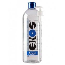Eros Megasol  Aqua 1000 ml / 33 oz. Water-based Lubricant (Bottle) Incl. Pump (ER33900)