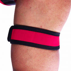 RudeRider Neoprene Puppy 2 Biceps Straps Red (T7259)