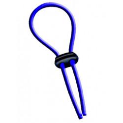 Flexi-Cockring (Hog Tie) Blue (T3812)