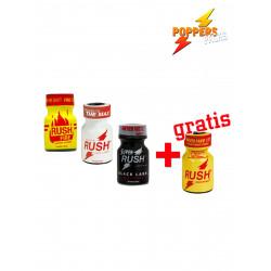 3 + 1 Rush MIX 9-10ml Liquid Incense (Aroma) (P0204)