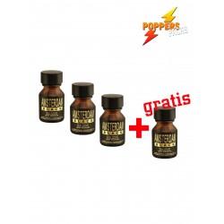 3 + 1 BLACK Amsterdam 10 ml Liquid Incense (P0206)