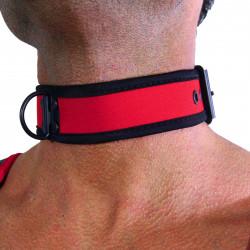 RudeRider Neoprene Puppy Collar Red (T7266)