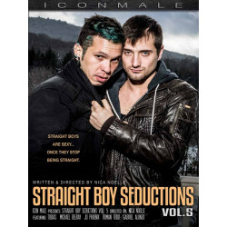 Straight Boy Seductions #5 DVD (Icon Male) (19794D)
