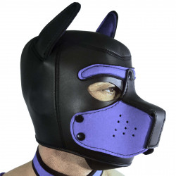 RudeRider Neoprene Puppy Hoods Blue (T7276)