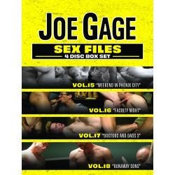 Sex Files Vol. # 15-18 4-DVD-Set (Joe Gage) (20151D)