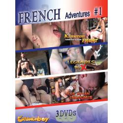 French Adventures #1 3-DVD-Set (Crunch Boy) (19521D)