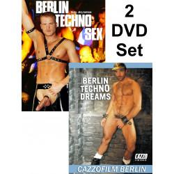 Berlin Techno Sex & Berlin Techno Dreams 2-DVD-Set (Cazzo) (18811D)