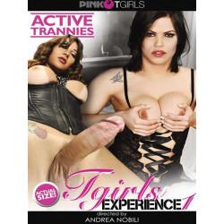 Tgirls Experience #1 DVD (Pink Tgirls) (20206D)