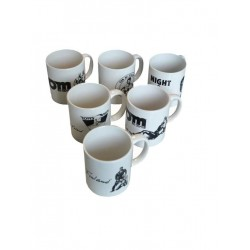 Tom of Finland Coffee Mug 6-Set (T3737)