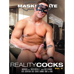 Reality Cocks #6 DVD (Maskurbate) (20256D)