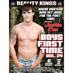 Boys First Time #24 DVD (Reality Kings) (12595D)