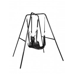 Rude Rider Sling Stand & Mat Kit with Foot Straps (T7796)