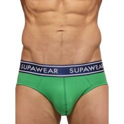 Supawear Supadupa MK II Jock Brief Underwear Green (T3758)