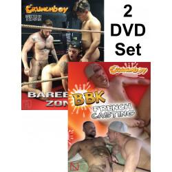 Crunch Boy Bareback# 1 2-DVD-Set (Crunch Boy) (20431D)