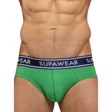 Supawear Supadupa MK II Brief Underwear Green (T3762)